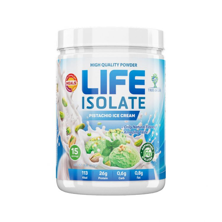 Life Isolate от Life Protein 1lb 454 гр 15 порций