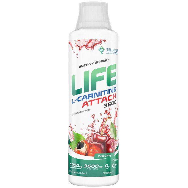 Life L-Carnitine ATTACK от  Tree of Life 500 ml