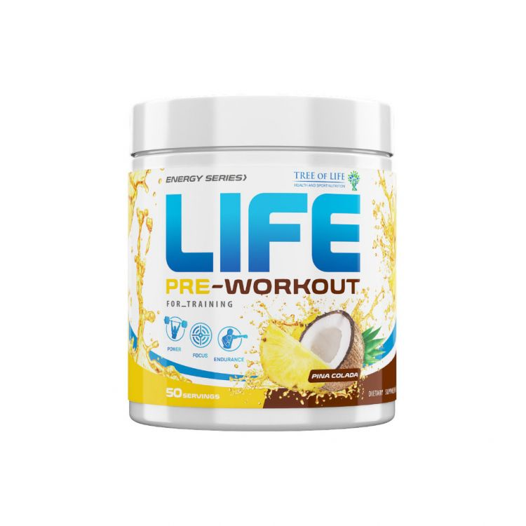 Life PRE-Workout 50 servs от Life Protein