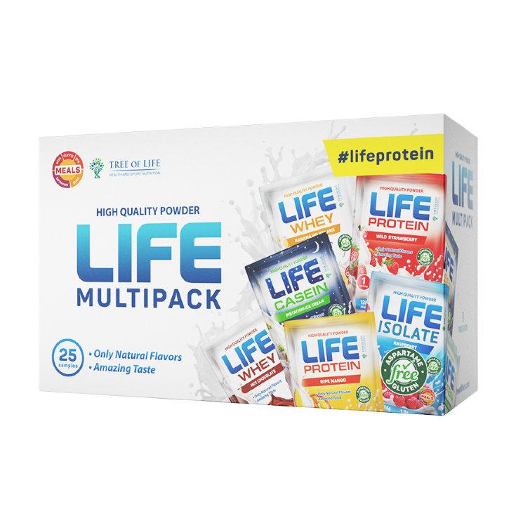 Life Multipack Samples от Life Protein 25 порций