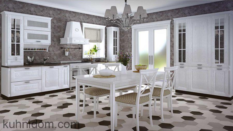 Кухня Римини Белая