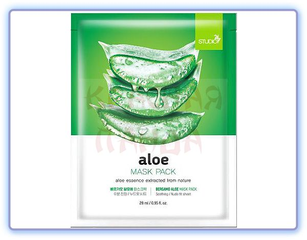 Bergamo Aloe Mask Pack