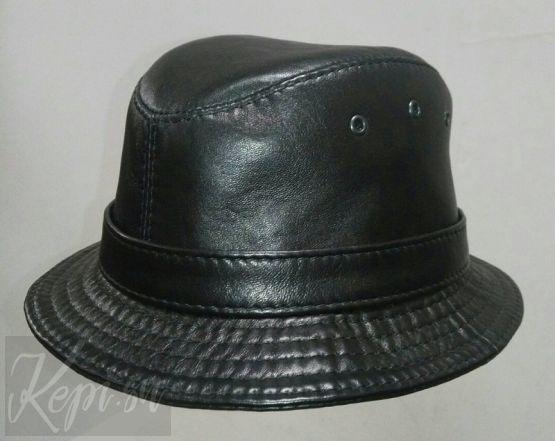 Шляпа-кожа