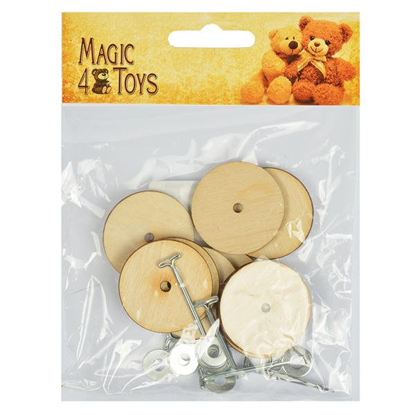 Фото Набор креплений №25 для игрушек фанера
