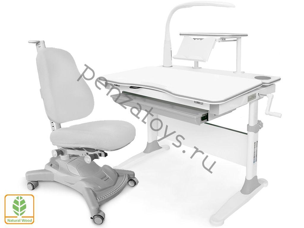 Парта+кресло Mealux EVO-30 с лампой