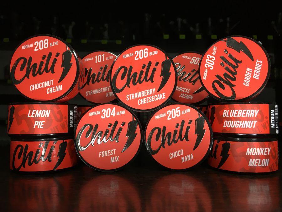Кальянная бестабачная смесь Chili medium - 50г