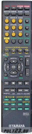 YAMAHA RAV315, HTR-6040, HTR-6050, RX-V461, RX-V561