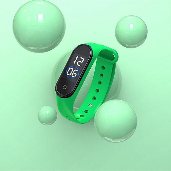 EZRA SW23 Зеленые часы наручные