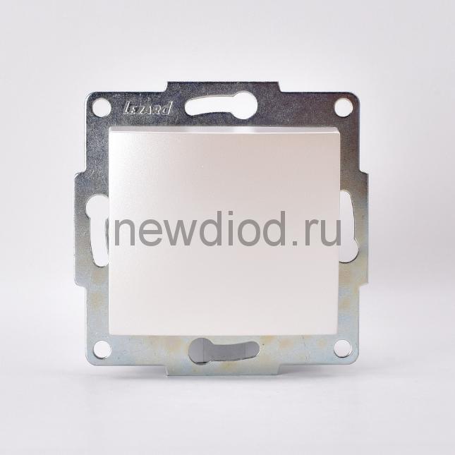 KARINA Выключатель жемчужно-белый перламутр  (10шт/120шт)