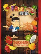 Дневник для старших классов Action! FRUIT NINJA линейка FN-DU-2