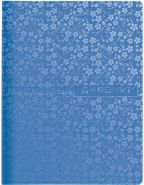 Дневник VELVET FASHION COSMO голубой
