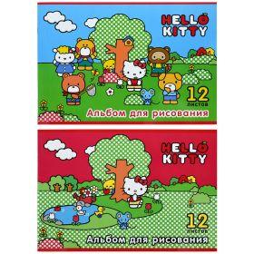 Альбом для рисования Action! HELLO KITTY A4 12 листов