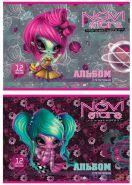 Альбом для рисования Action! Novi Stars A4 12 листов