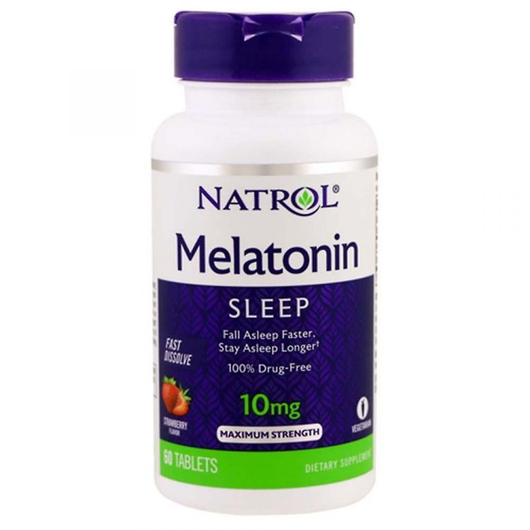 Melatonin Maximum Strength от Natrol 10 MG