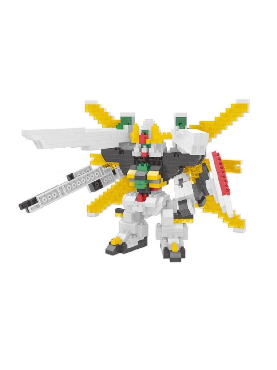 Конструктор Wisehawk & LNO Дабл Х Гандам 756 деталей NO. 2361 Double X Gundam mini block