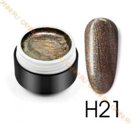 """Гель лак Venalisa """"Laser Rainbow"""" H21"""