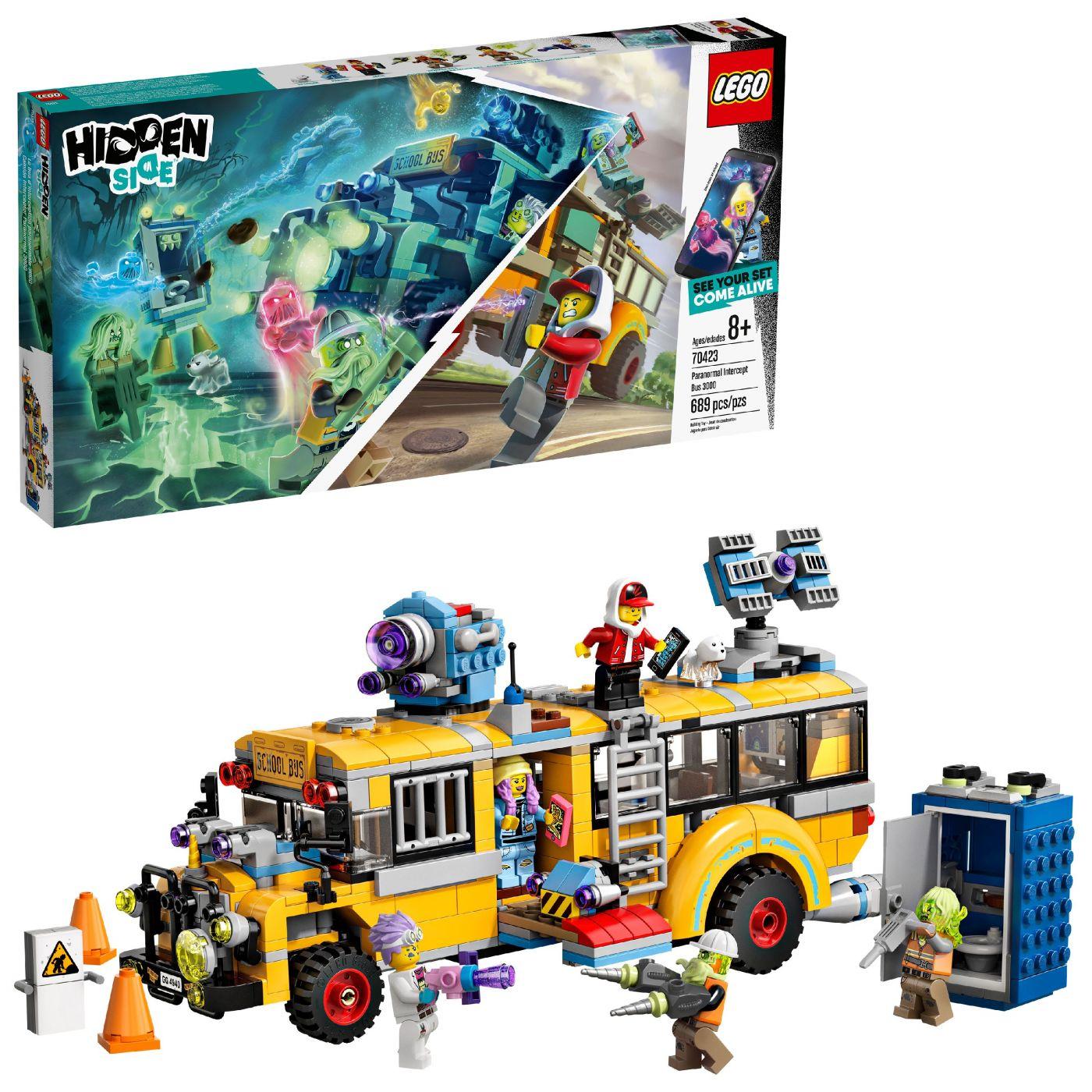 Конструктор LEGO Hidden Side 70423 Автобус охотников за паранормальными явлениями