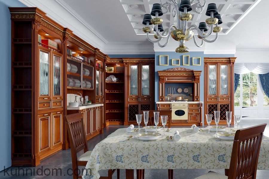 Кухня Страдивари с порталом