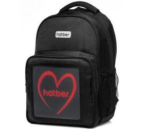 Рюкзак Hatber Joy Черный- LED 46*32*18см отделение для ноутбука LB_064648