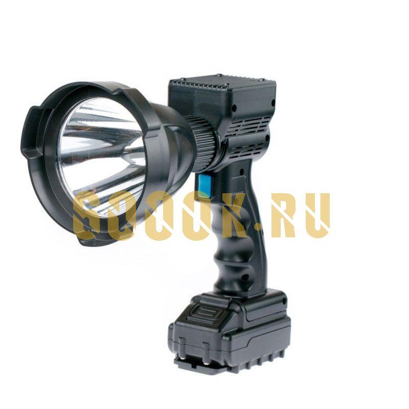 Ручной светодиодный фара-искатель 65 Ватт с аккумулятором