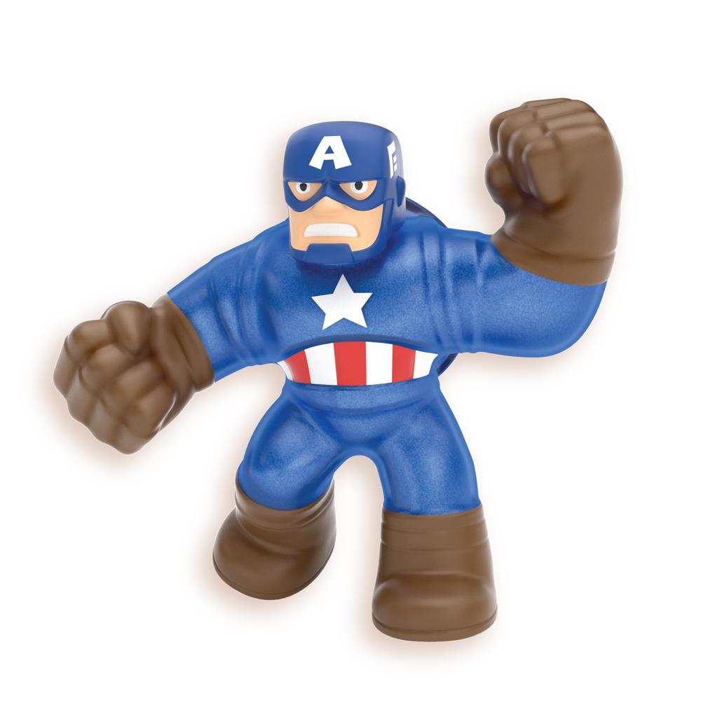 4 Супергероя Гуджитсу Капитан Америка, Халк, Железный человек, Человек-Паук