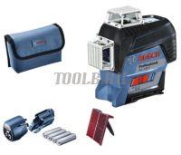 Bosch GLL 3-80 C + вкладка под L-BOXX - Лазерный уровень  - купить выгодно по цене производителя