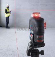 Bosch GLL 3-80 C + вкладка под L-BOXX - Лазерный уровень  - купить выгодно по цене производителя с доставкой по России и СНГ