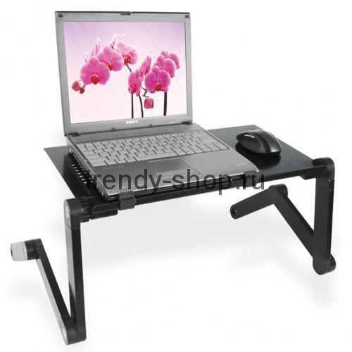 Стол для ноутбука с подставкой для мышки Laptop table T8