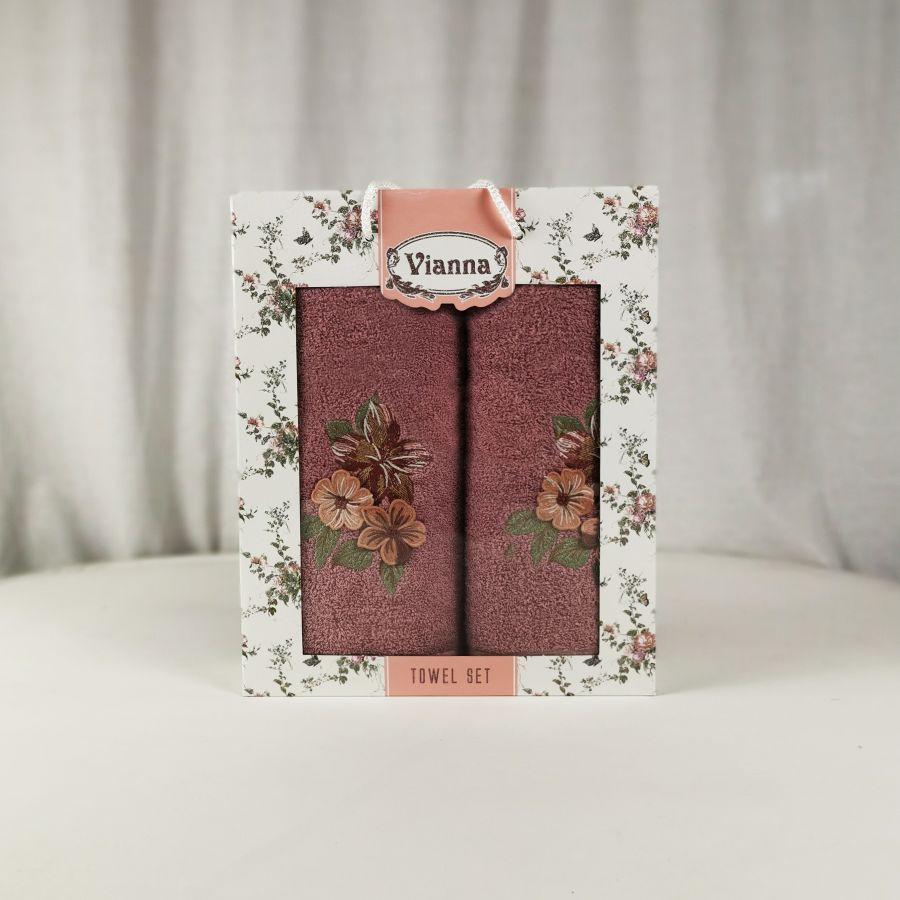 Набор полотенец Vianna Luxury Series (50x90, 70x140)