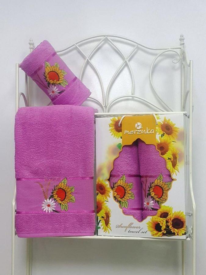Набор полотенец Merzuka Sunflower (50x80, 70x130)