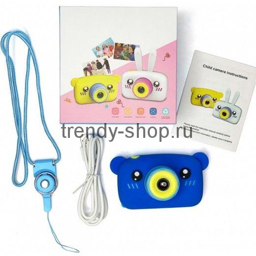 Цифровой детский фотоаппарат Мишка