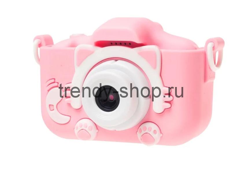 Детский фотоаппарат Котик