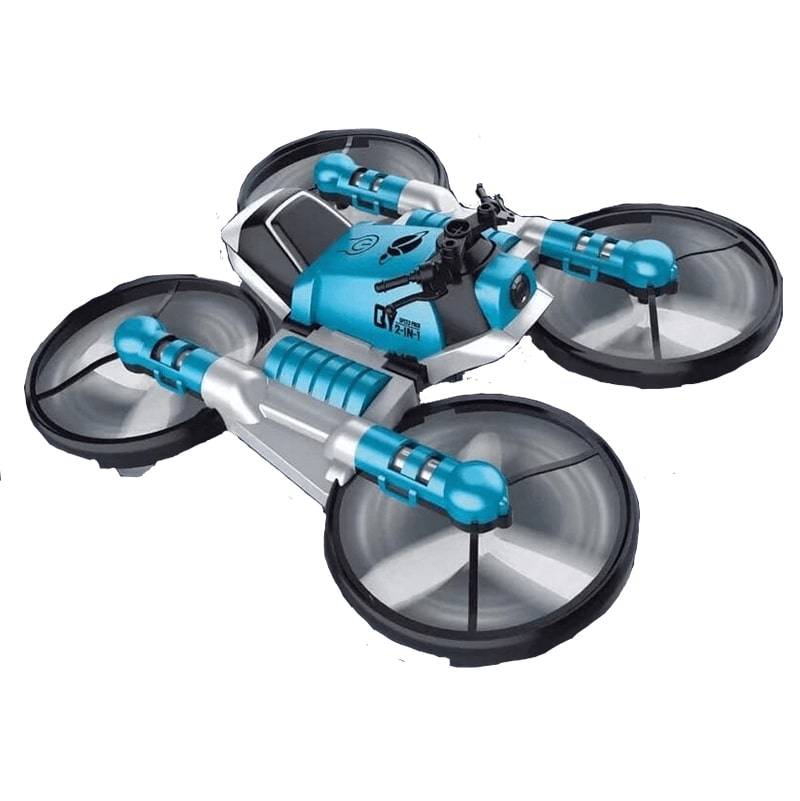 Трансформер Квадрокоптер-мотоцикл 2в1 дрон Leap с пультом управления