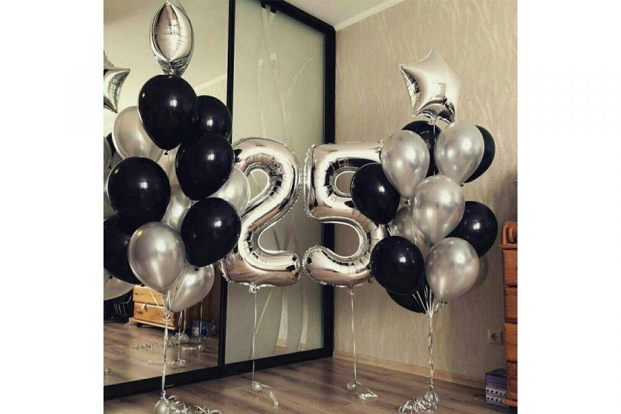 Композиция из воздушных шаров День рождения №194