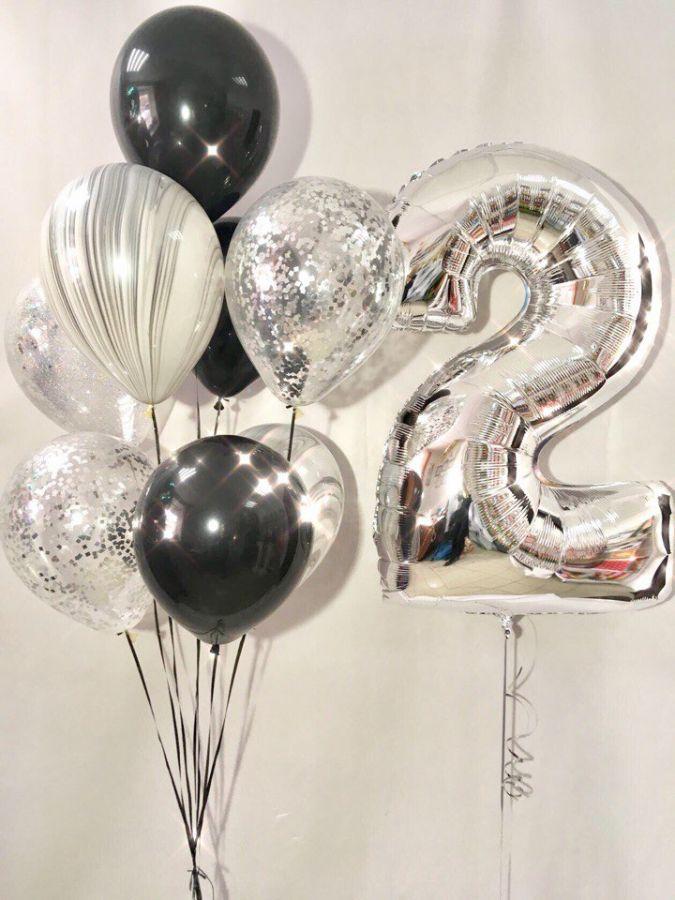 Композиция из воздушных шаров День рождения №21