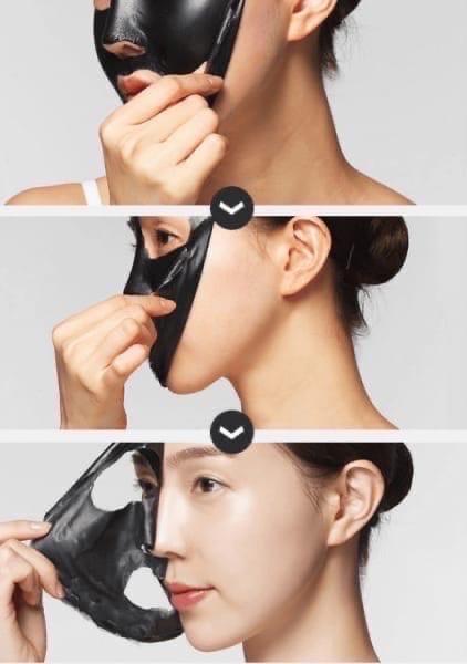 Отшелушивающая маска с углем для носа Charcoal Black Head Peel Off Nose Pack (KOREA ORIGINAL) (1122991)