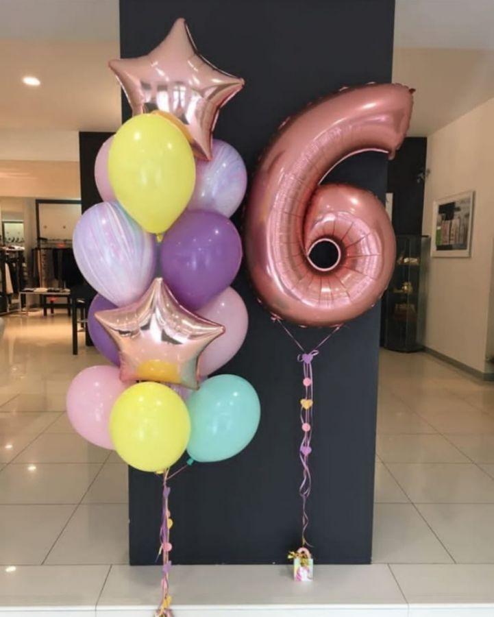 Гелиевые шары набор №110