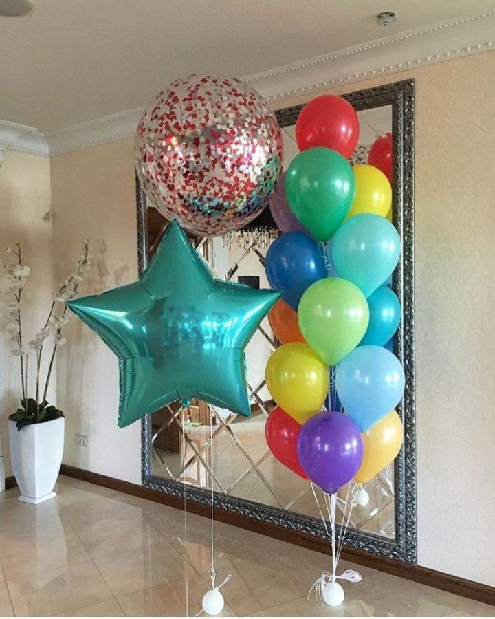 Гелиевые шары набор №130