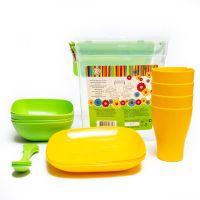 Набор пластиковой посуды на 4 персоны_3