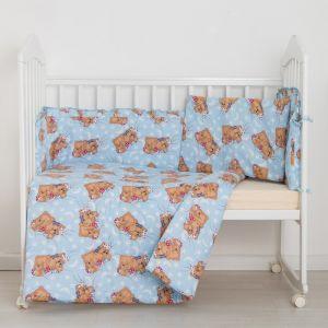 """Комплект """"Спящие мишки"""" (3 предмета), цвет голубой 31 1423980"""
