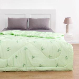 Одеяло Бамбук 140х205 см, полиэфирное волокно 200 гр/м, пэ 100%   4086945