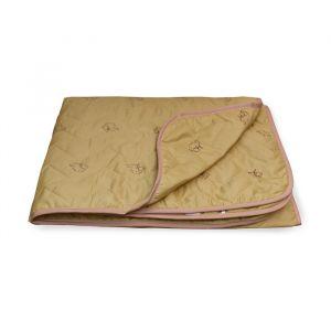 Одеяло Верблюд стеганое облегченное 140х205 см, полиэфирное волокно 150 гр/м2, п/э 100%   4065024