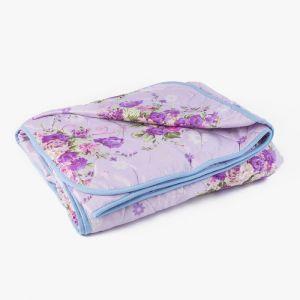 Одеяло стеганое облегченное «Овечья шерсть», размер 140х205 см, цвет МИКС, полиэфирное волокно