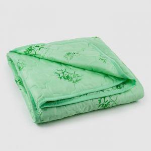 Одеяло стеганое «Бамбук», размер 145х205 см, бумбуковое волокно, чехол ПЭ 100%