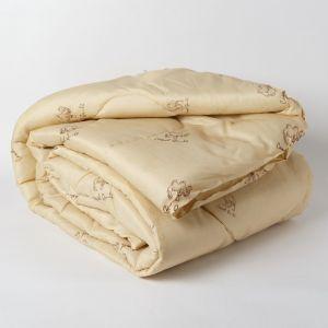 Одеяло Эконом Верблюжья шерсть 140х205 см, полиэфирное волокно, 200г/м2, пэ 100%   4782662