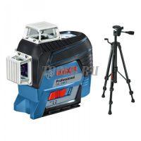 Bosch GLL 3-80 C + BT 150 + вкладка под L-BOXX - Лазерный уровень  - купить выгодно по цене производителя с доставкой по России и СНГ