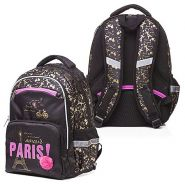 Рюкзак Hatber Soft Paris 37*28*17 чёрный NRk_49056