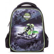 Ранец Hatber Ergonomic Classic Moto extreme 28*38*16  NRk_45029