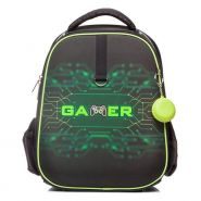 Рюкзак Hatber Ergonomic Plus Gamer 38х29х16 чёрный