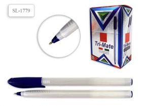"Ручка шар. Tukzar SL 1779 ""Tri-Mate"" синяя, 1мм"
